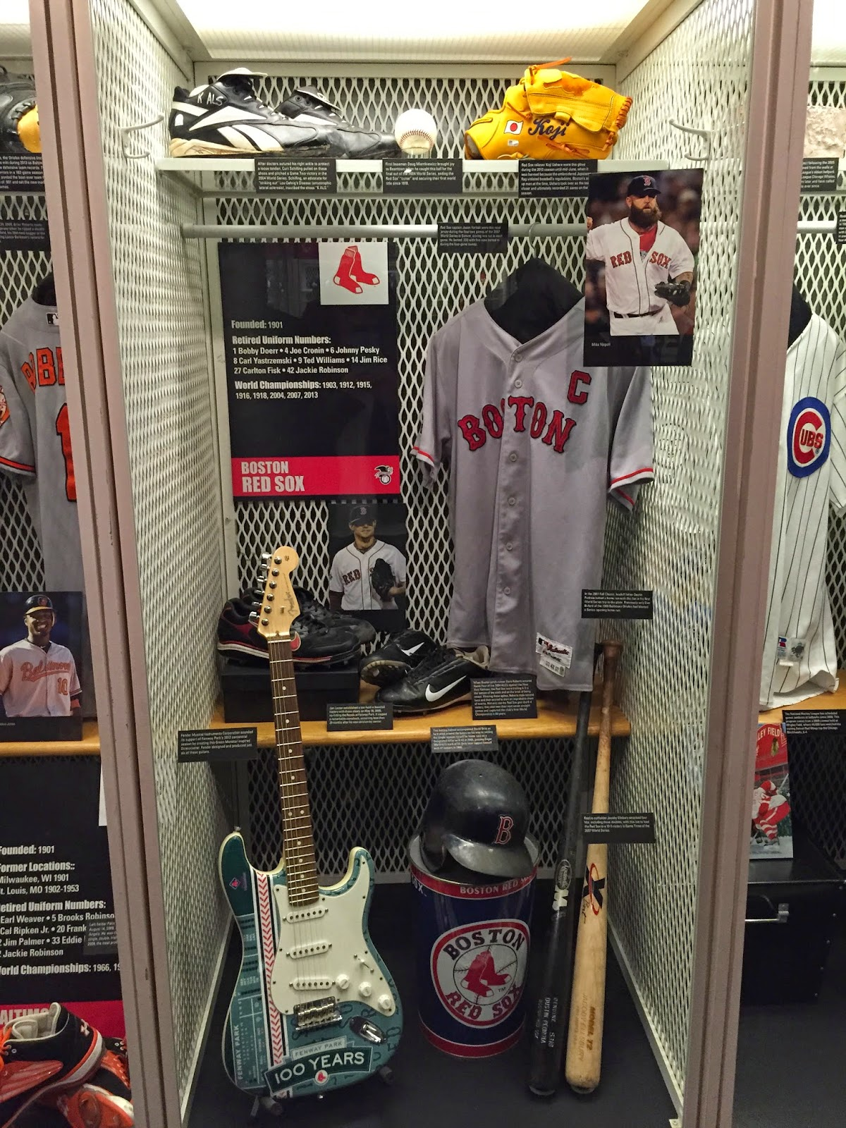 Red Sox Locker Hall of Fame