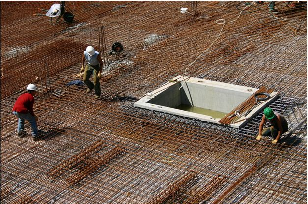 genie civilcharpentesbeton arme ingenierie dalle beton