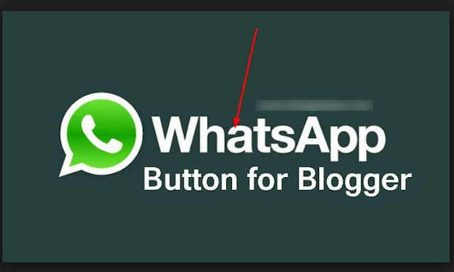 How To Add Whatsapp Sharing Button To Blogger Blog