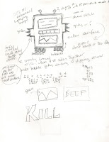 sketches of a robot