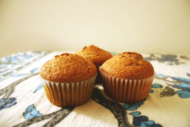 Bow ties are cool.: Pumpkin Spice Muffins!
