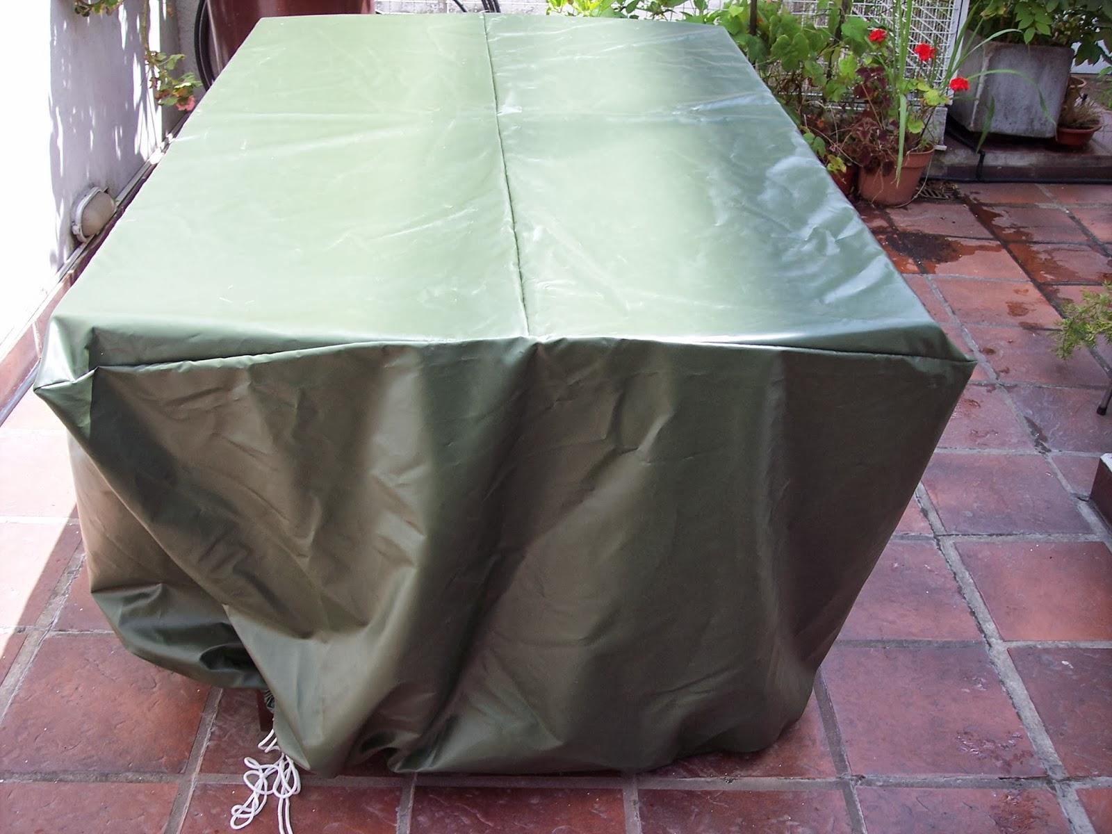 Fundas impermeables mesa de jard n for Fundas para mesas de jardin