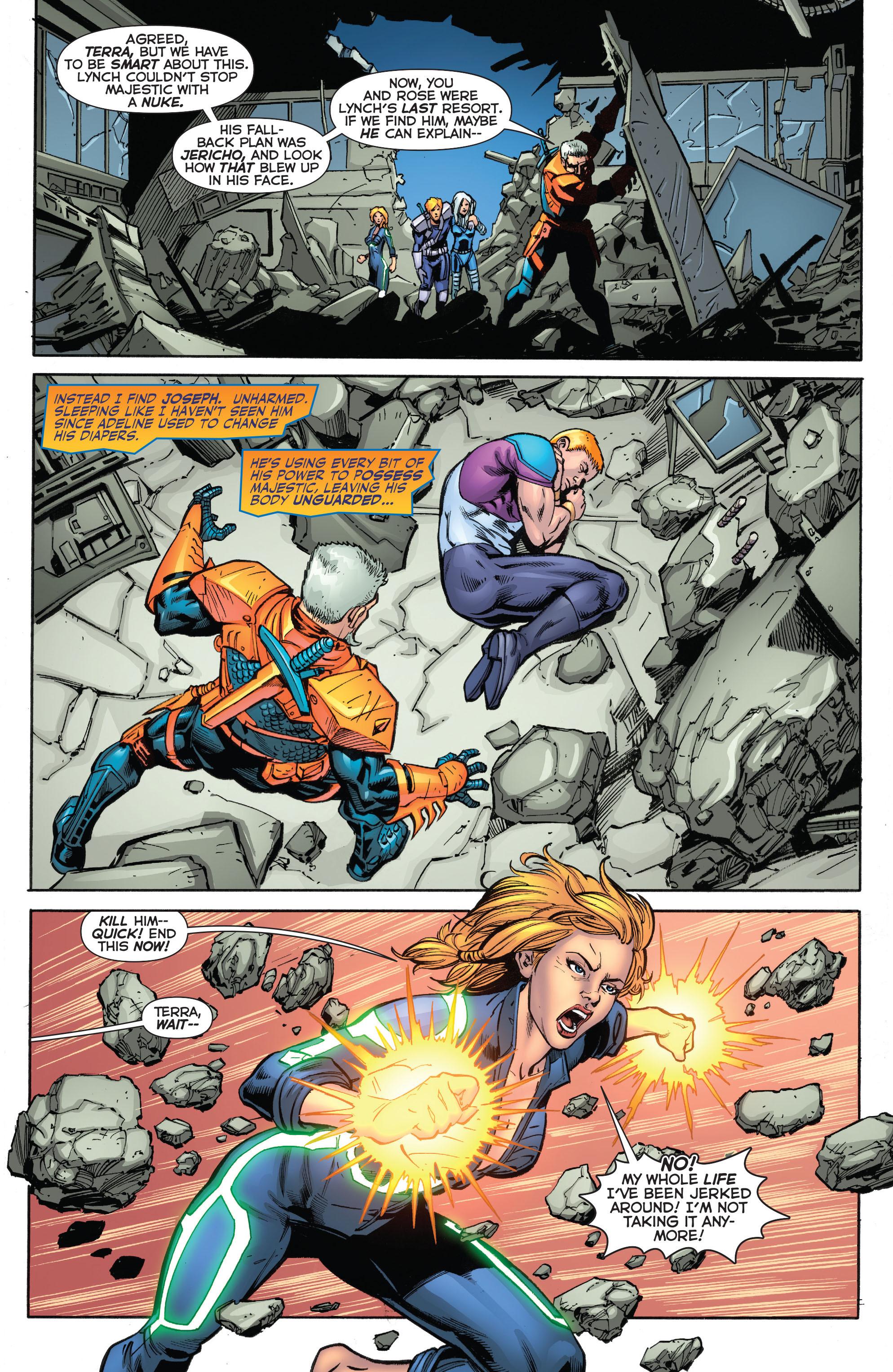 Deathstroke (2011) Issue #20 #21 - English 8