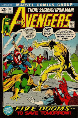 Avengers #101, Rich Buckler