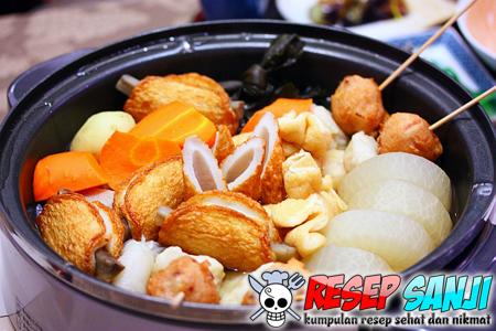 Cara Membuat Oden Makanan Khas Jepang