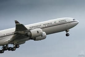 Algeria President's Plane