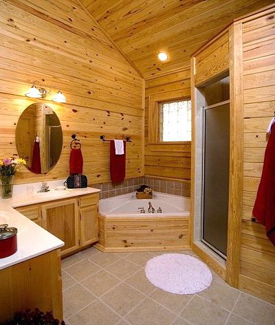 Southwestern bathroom design ideas room design ideas for Bath cabin