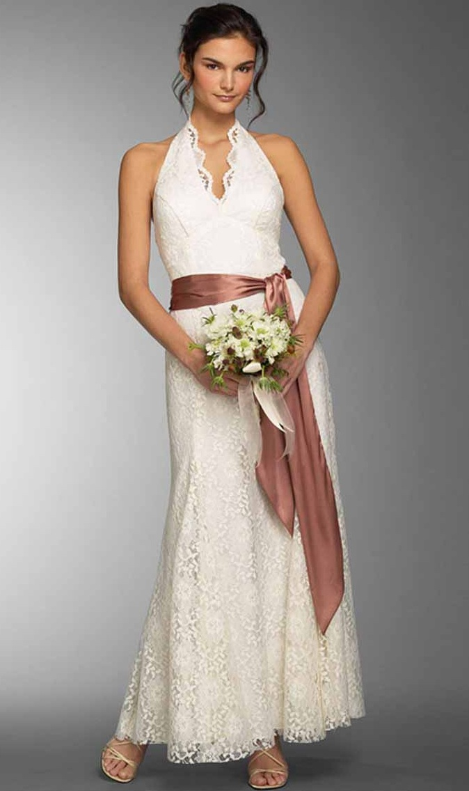 Wedding dresses most simple elegant wedding dresses for Simple casual wedding dresses