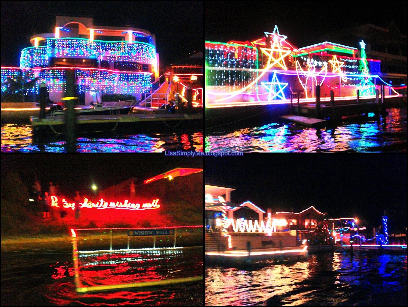 Mandurah Canal Christmas Lights Tour