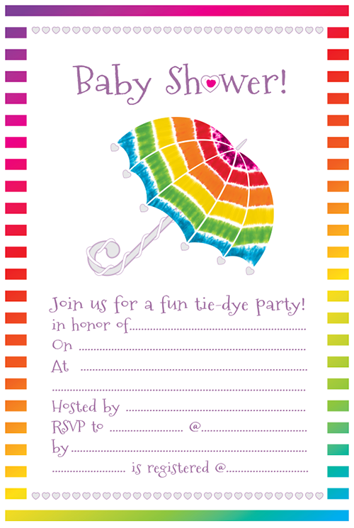 Ilovetocreate blog throw a tie dye baby shower we even made this fun tie dye baby shower invitation for the event that is a free download for you to use at your tie dye baby shower download it here filmwisefo