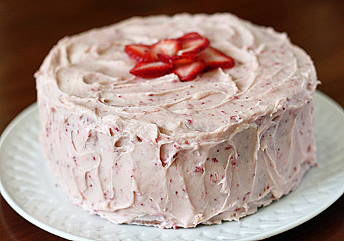 The Galley Gourmet: Strawberry Dream Cake