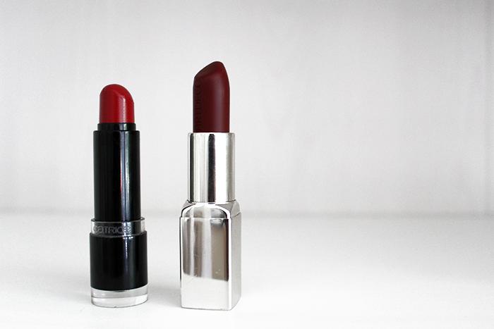 Beauty fashion blog favorite red lipstick collection catrice artdeco