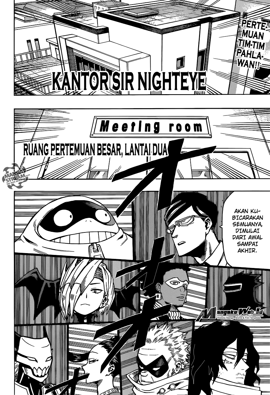 Boku no Hero Academia Chapter 135-2