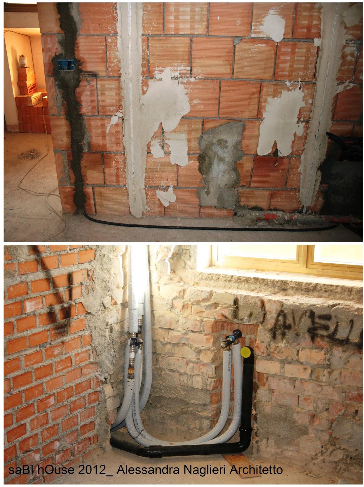 Sabi house impianto di riscaldamento radiante a pavimento - Scarico cucina e bagno insieme ...