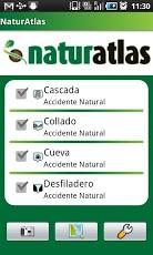 Blog Safari club, Atlas de naturaleza Android