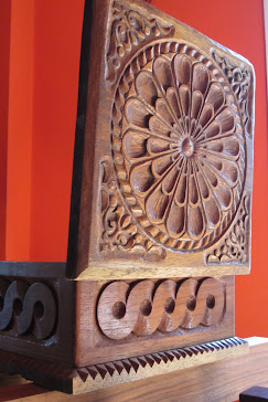 caja tallada cedro argentino