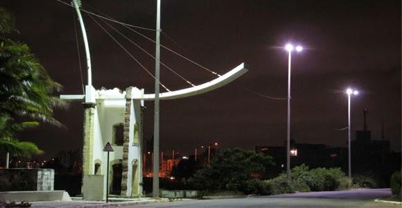 MONUMENTO NA DIVISA ENTRE INTERMARES E O BESSA - Foto: Fábio Fernandes