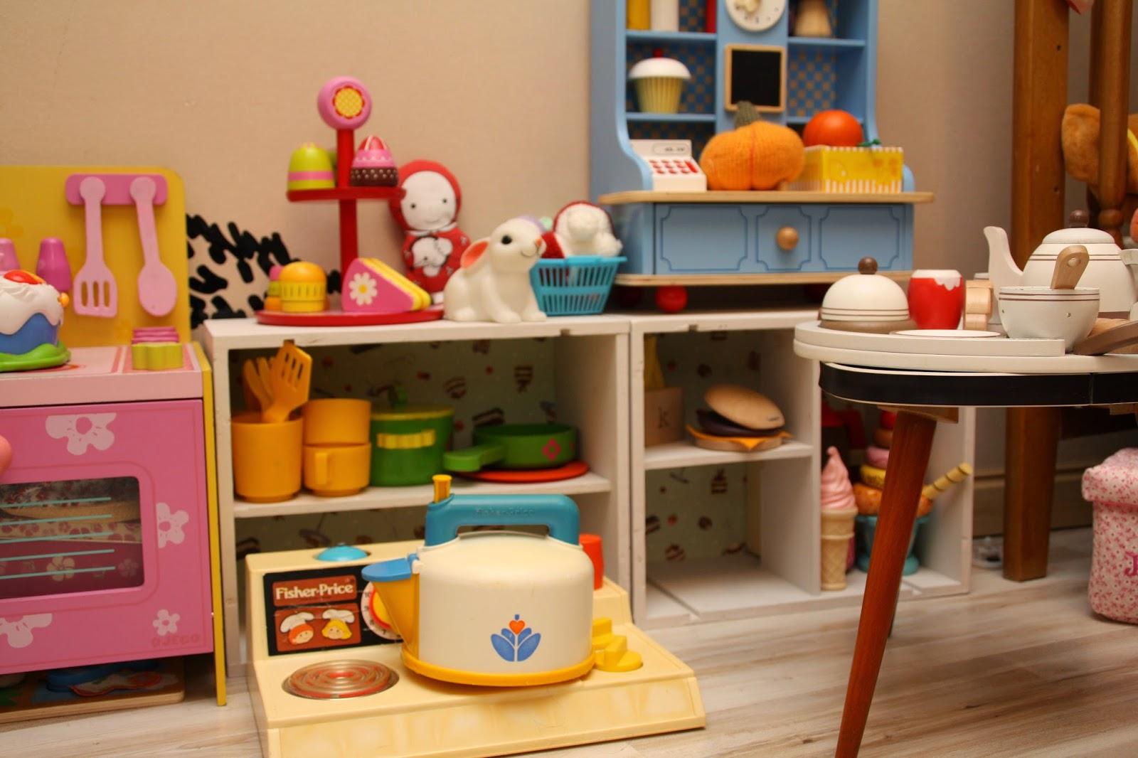 cuisiniere jouet vintage retro fisher price plaque cuisson jouets bois