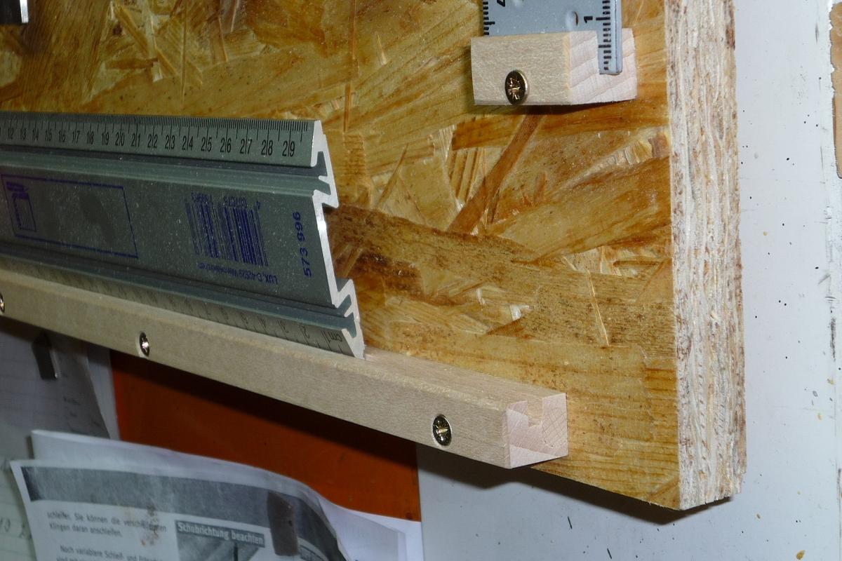 Michas holzblog neues aus der werkstatt neue me werkzeug wand - Schiebetur in der wand laufend selber bauen ...