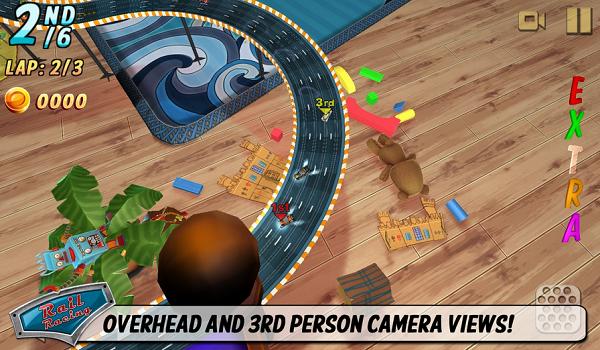 Tải Rail Racing – Game đua xe 3D cho Android