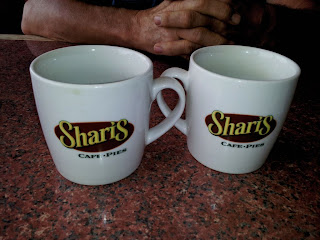 Shari's for soup and sandwich, coffee and pie