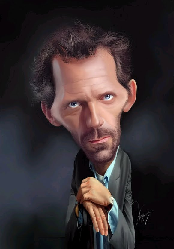 A collection of funny caricatures of famous people  34 Images ...
