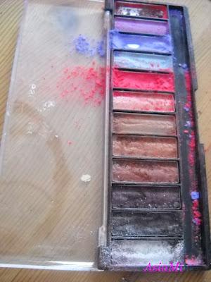 Makijażowe malowidła