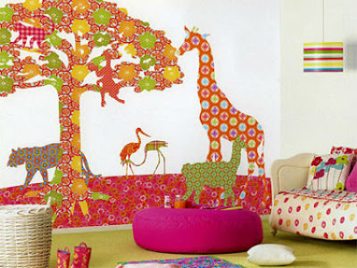 Decorate with paper crafts