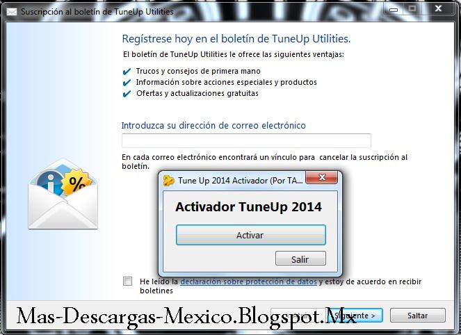 TuneUp Utilites 2014   Desarrollador: TuneUp (from AVG)   Idioma