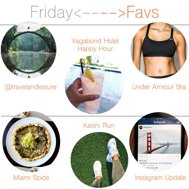 Friday Favorites: Travel, Happy Hour, Miami Spice