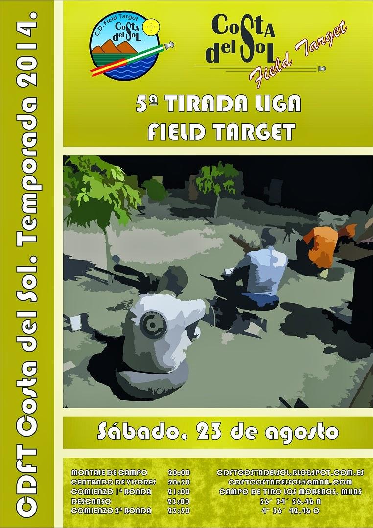5ª Tirada FT 2014. 23 de Agosto NOCTURNA. CDFT Costa del Sol CARTEL%2B5%2BFT%2B-