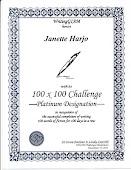 GIAM Platinum 100x100 Challenge Award!