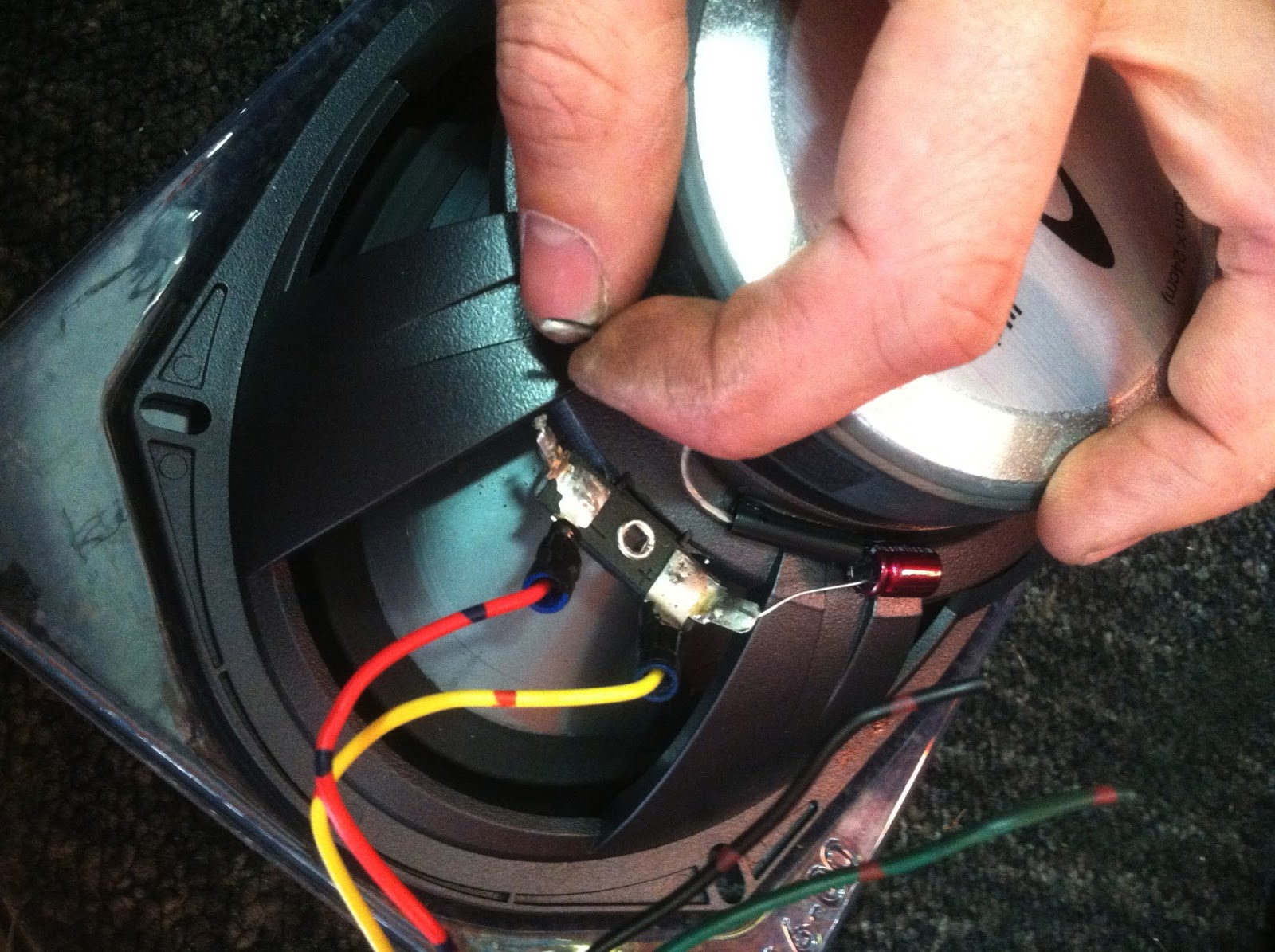 Car Audio Tips Tricks And How Tos Upgrading Rear Speakers Toyota Amp Wiring Kit With Capacitor Camry Speaker Upgrade Alpine Jeremy