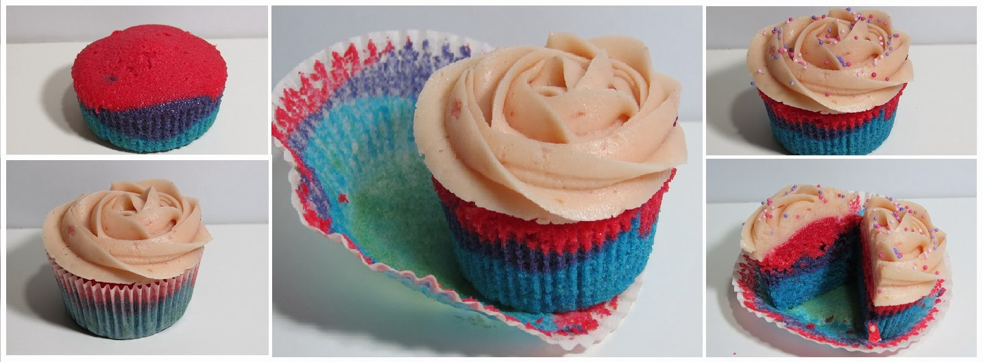 Cupcakes tricolor, El teu cupcake, Cupcake, Lleida