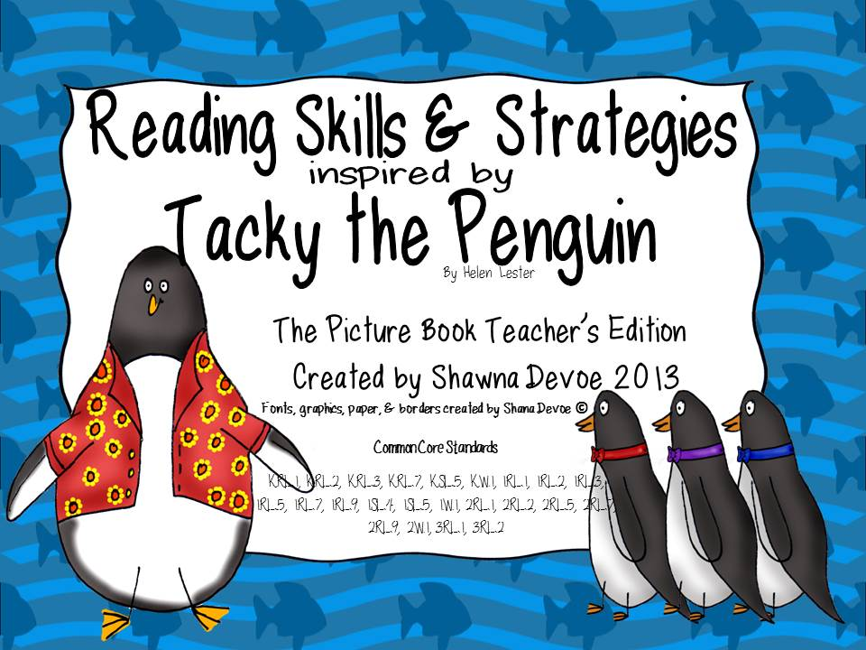 ... tacky the penguin by helen : Penguin Activities For 2nd Graders