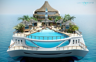 Tropical Island Paradise on a Yacht Seen On www.coolpicturegallery.us