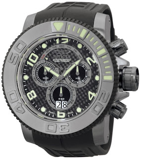 Vía Pinterest por Anna Seixas en http://www.yourdreamizhere.com/product/0413/Invicta-0413-Pro-Diver-Sea-Hunter-Chronograph-Black-Poly-Strap-Mens-Watch.html de Invicta