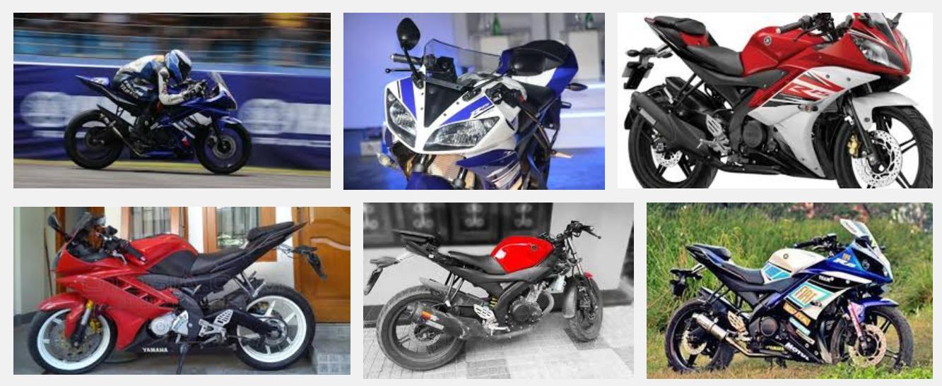 Foto Modifikasi Motor Yamaha R15