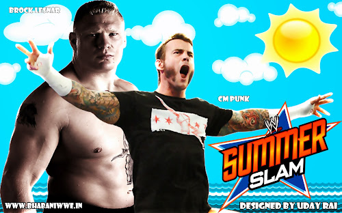 Wallpaper » Download SummerSlam 2013 HQ Wallpaper (Designed By Uday Rai via iPOST)