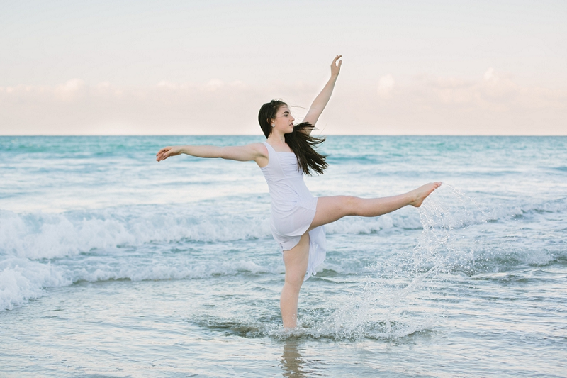 south florida beach dance photography