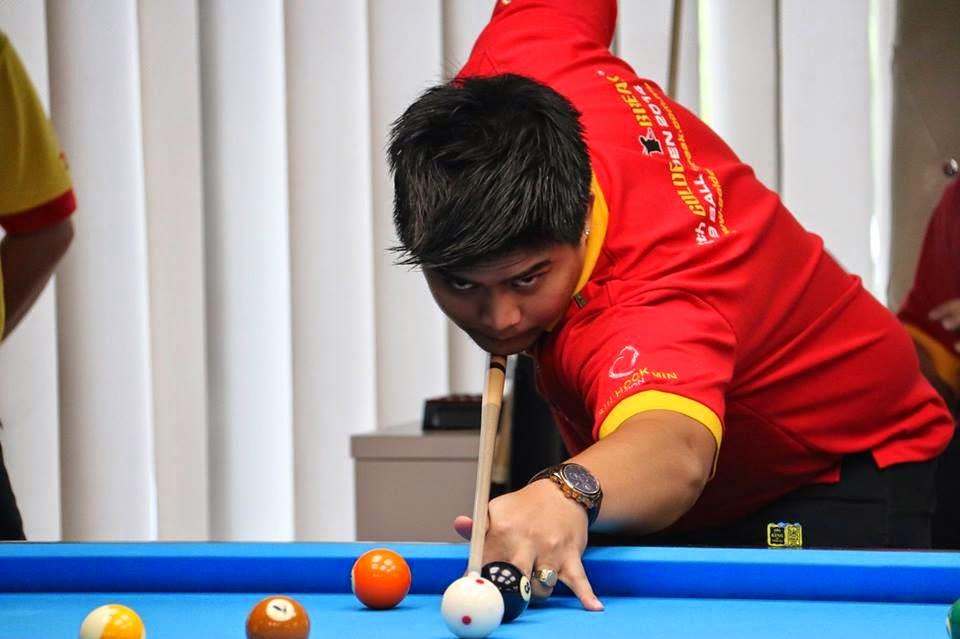 Raymund Faraon Bicolano Billiards Champion