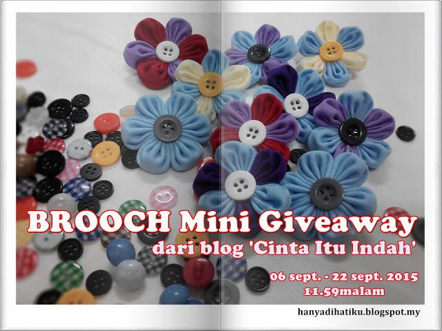BROOCH Mini Giveaway