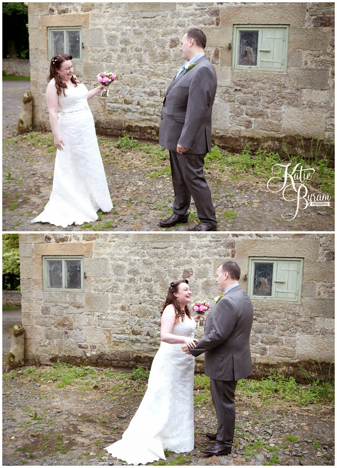 first look, first look wedding, katie byram photography, high house farm brewery