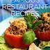Famous Restaurant Recipes -free ebook