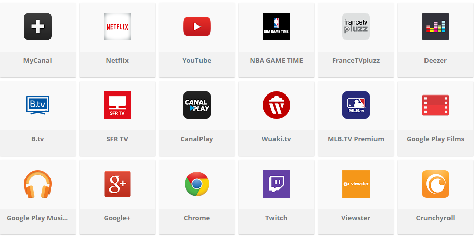 telecharger appli sfr tv android
