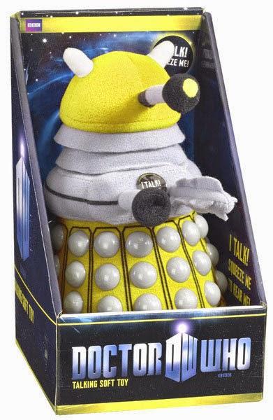 Peluche Dalek Doctor Who