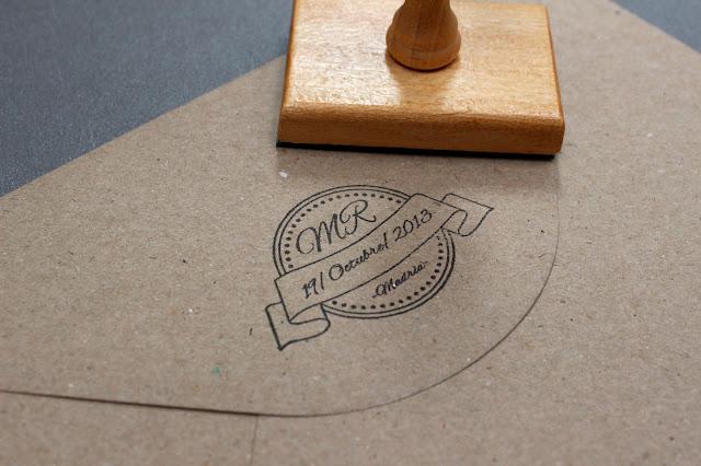 sello personlaizado invitaciones de boda originales hermanas bolena