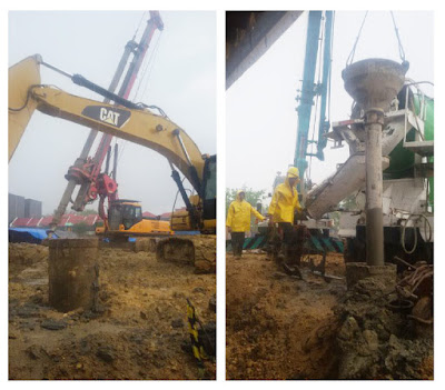 Progres Pembangunan Sutan Raja Hotel Kendari