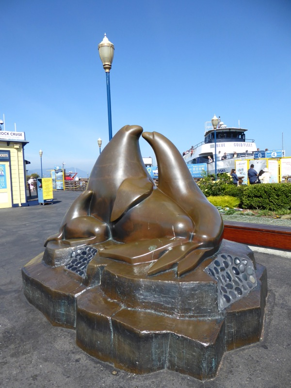 Sea Lion sculpture Pier 39 San Francisco