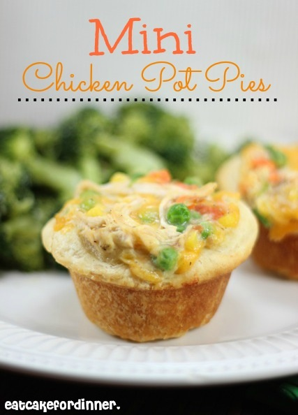 Mini Biscuit Chicken Pot Pies